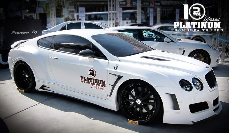 2010 Bentley Widebody GT Premier4509 Platinum Edition