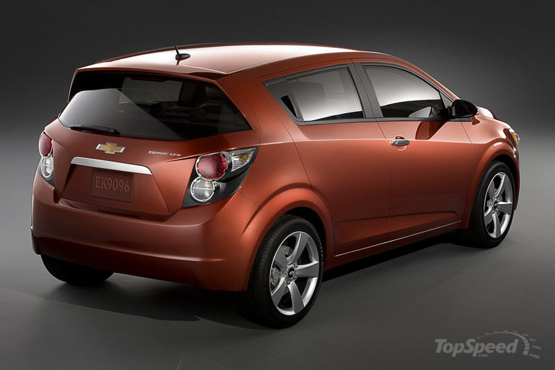 2012 Chevrolet Sonic High Resolution Exterior - image 386472