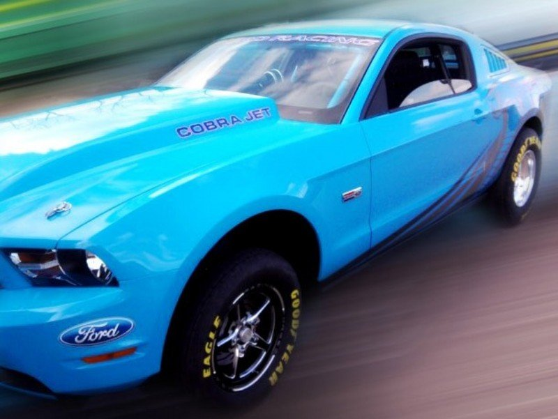 2012 Ford Mustang Cobra Jet Top Speed