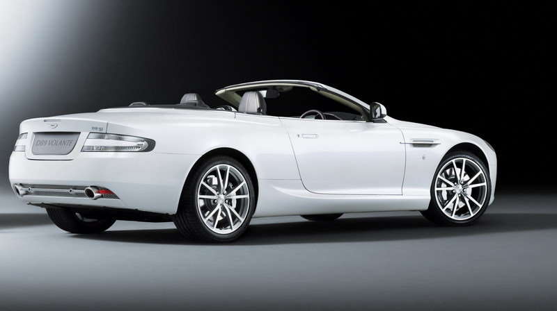 2011 Aston Martin DB9 Morning Frost