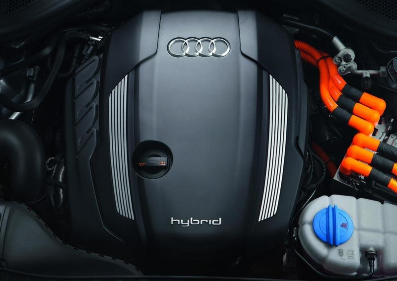 2012 Audi A6 Hybrid High Resolution Drivetrain - image 384923