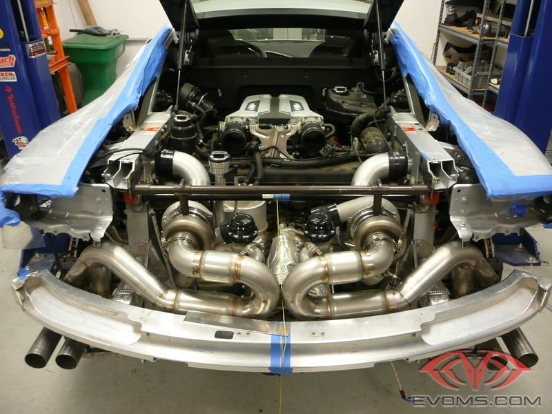 2011 Audi R8 by Evolution Motorsports Drivetrain - image 386509