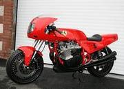 Custom one-off Ferrari 900 Motorcycle up for auction - image 386297