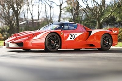 Ferrari FXX Evoluzione and Maserati MC 12 join the lineup in supercar auction