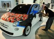 Fiat 500 makes artsy US debut at Exhibitalia in Miami - image 386928