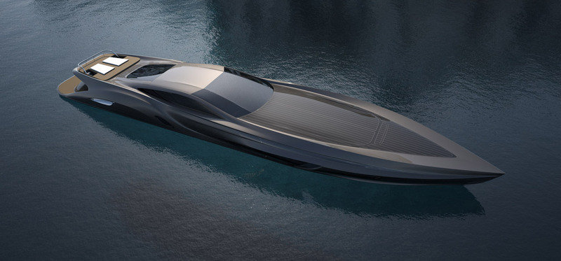 Strand Craft 166 Super Yacht by Gray Design comes with a Supercar Tender Exterior - image 387533