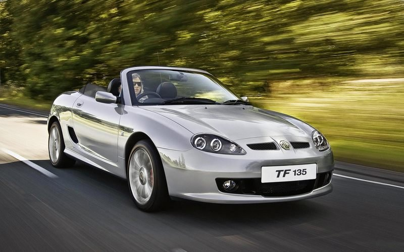 MG TF roadster out of production