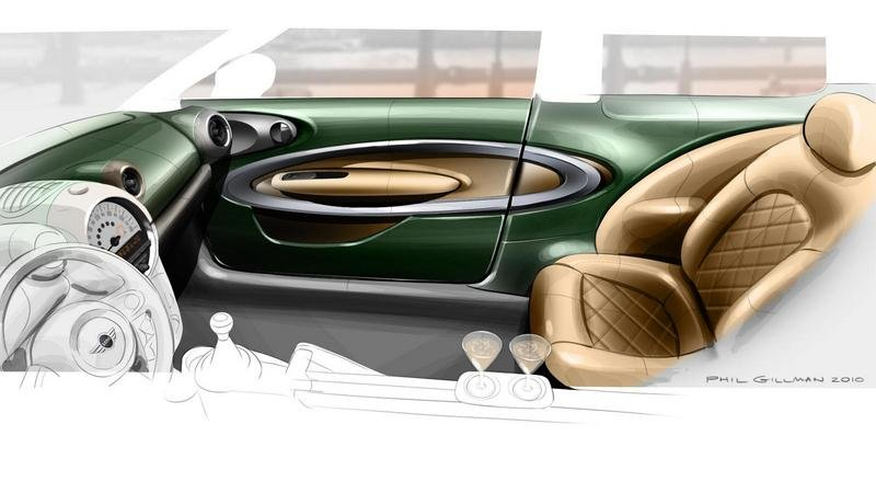 2011 MINI Paceman Concept Interior Drawings - image 386956