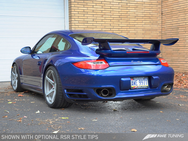 Porsche 997.2TT Exhaust Solutions by AWE Tuning