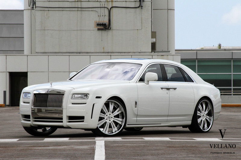 2011 Rolls Royce Ghost by Mansory and Vellano
