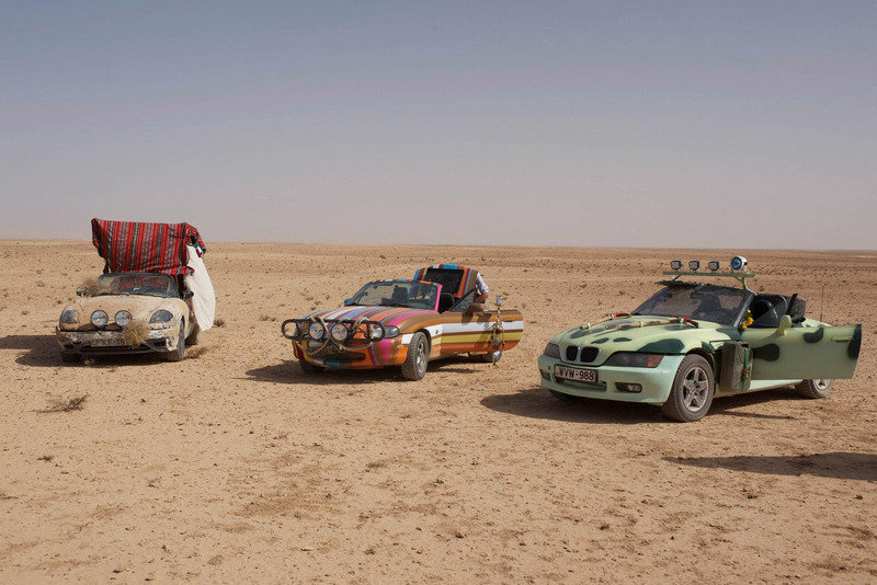 "Top Gear's ""Three Wise Cars"" to be displayed at the World of Top Gear Exhibition in the UK"