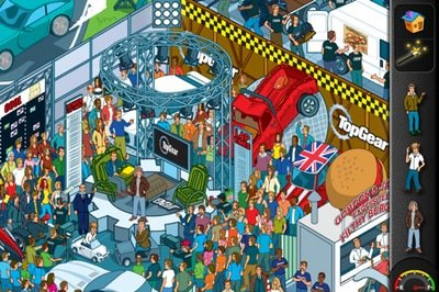 Top Gear: Where's Stig? by BBC Interactive