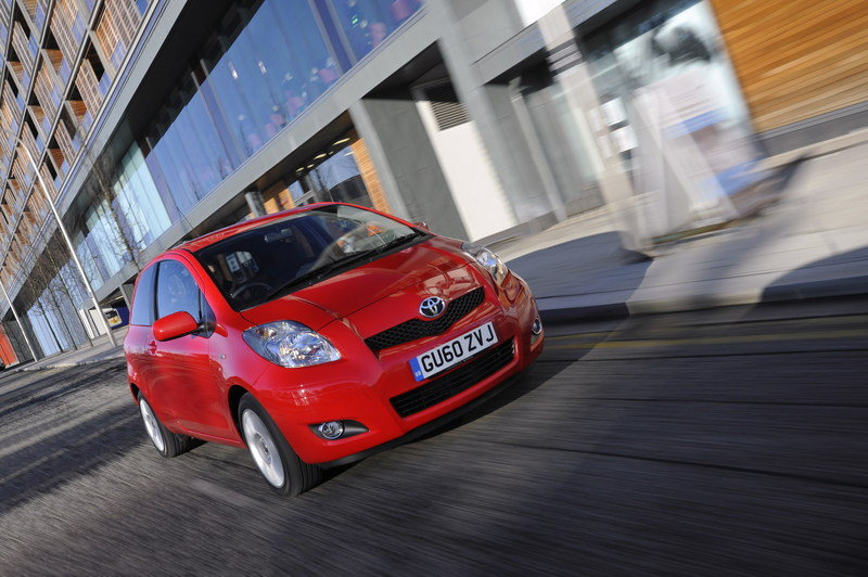 2011 Toyota Yaris T Spirit and SR High Resolution Exterior Wallpaper quality - image 386752