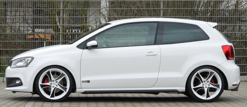 2011 Volkswagen Polo GTI by H&R
