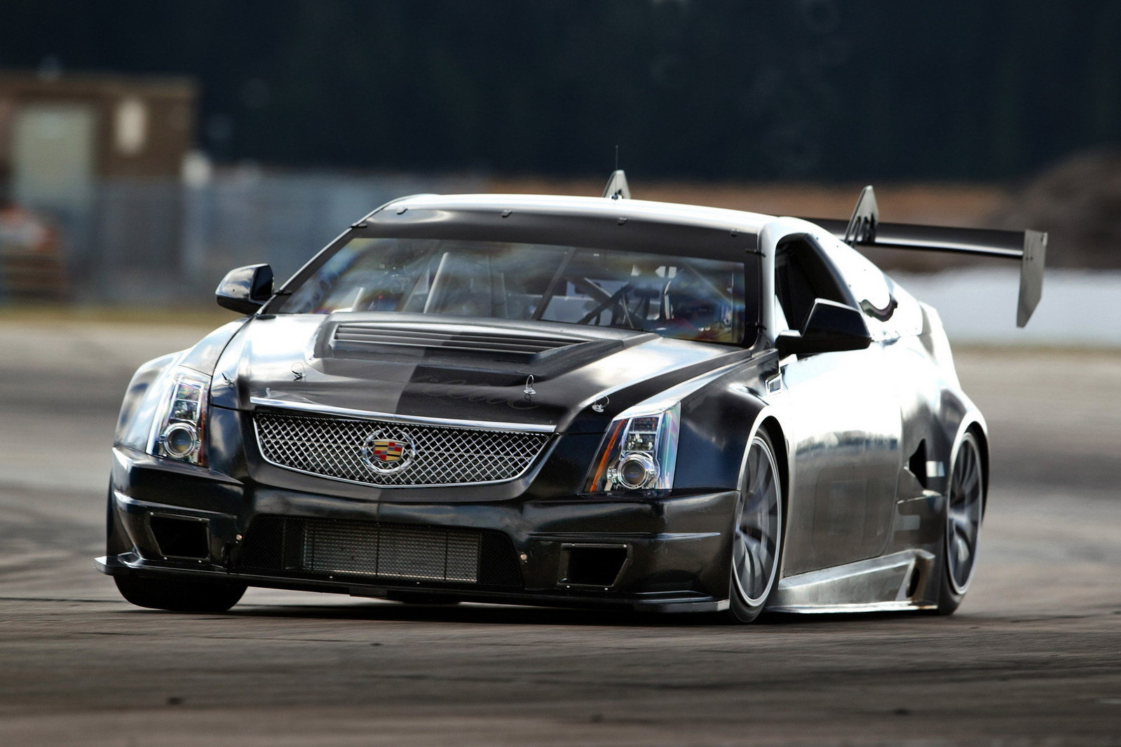 2011 cadillac cts v coupe race car review top speed. Black Bedroom Furniture Sets. Home Design Ideas