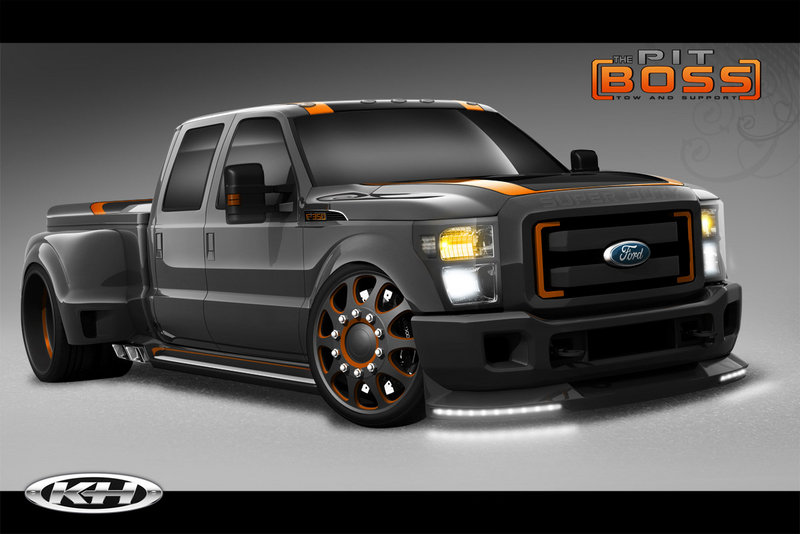 2011 Ford F-350 Super Duty by Airhead Kustoms