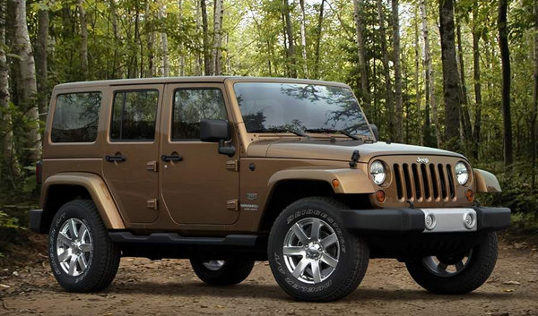jeep wrangler 70th anniversary edition picture