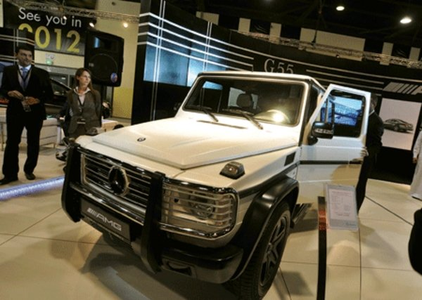 mercedes g-class arabia 100 limited edition picture