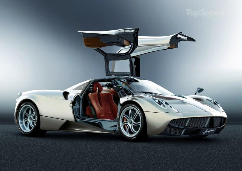 2011 Pagani Huayra High Resolution Exterior - image 390361