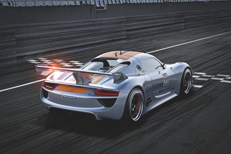 2011 Porsche 918 RSR Racing Lab High Resolution Exterior - image 388663