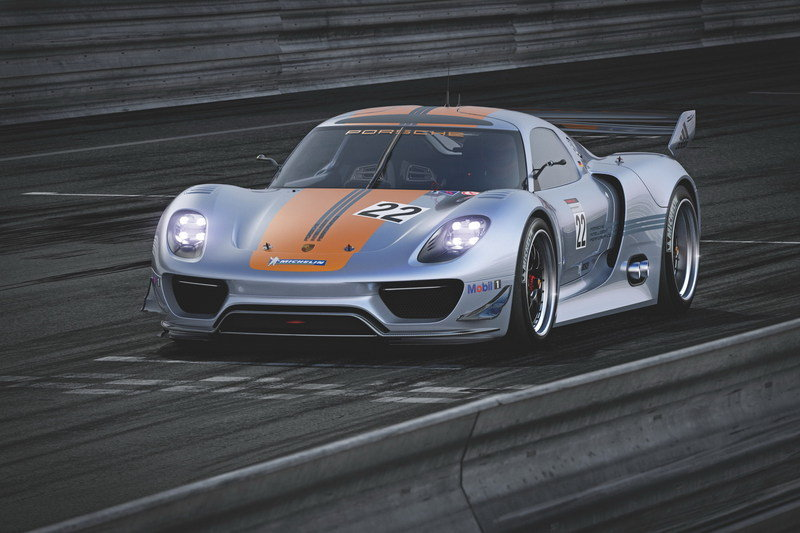 2011 Porsche 918 RSR Racing Lab High Resolution Exterior Wallpaper quality - image 388668