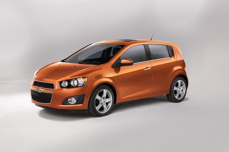 2012 Chevrolet Sonic High Resolution Exterior - image 388604