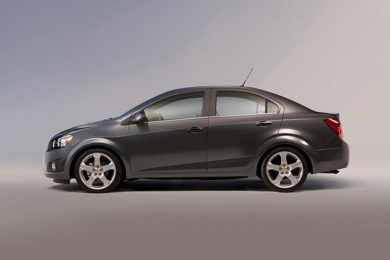 2012 Chevrolet Sonic High Resolution Exterior - image 388609