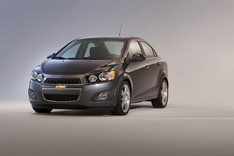 2012 Chevrolet Sonic High Resolution Exterior - image 388612