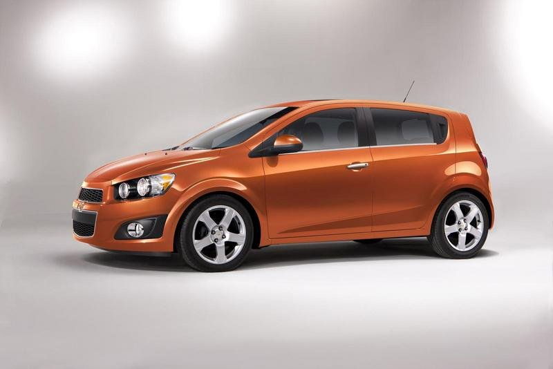 2012 Chevrolet Sonic High Resolution Exterior - image 388602
