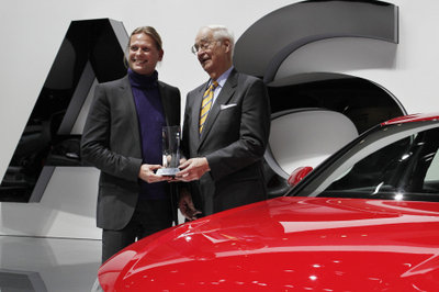 Audi A6 bags EyesOn Design award at the Detroit Auto Show