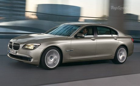 Bmw 750i X. mw 7-series gets jacked
