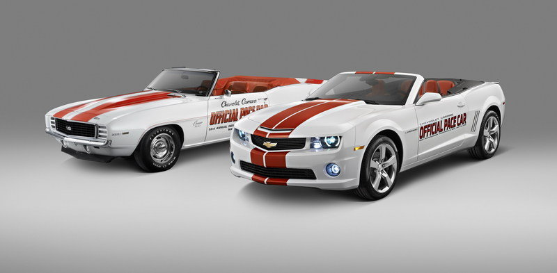 2011 Chevrolet Camaro SS Indianapolis 500 Pace Car High Resolution Exterior - image 390044