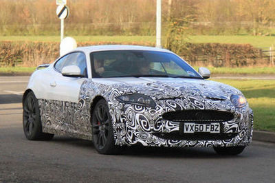 Jaguar XK Coupe facelift coming in 2012