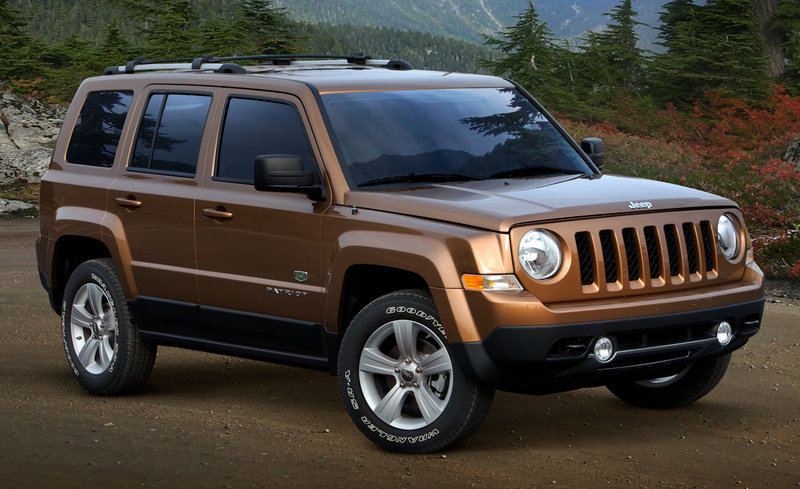 2011 Jeep Patriot 70th Anniversary Edition