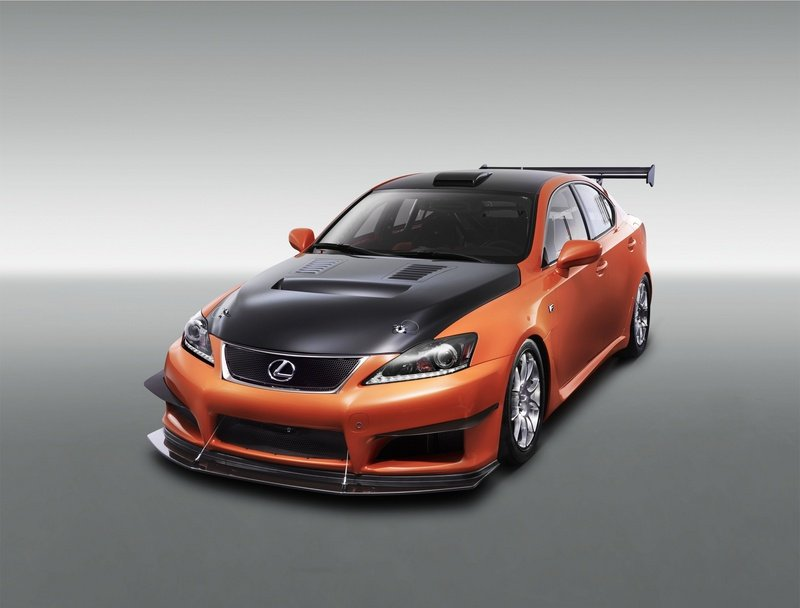 2011 Lexus IS- F Club Circuit Sports Racer