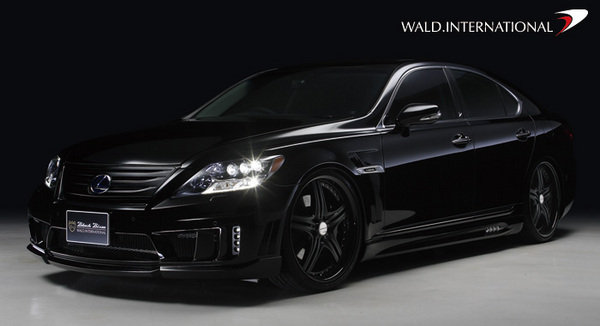 "Led Lights For Cars >> 2011 Lexus LS600h ""Sports Line Black Bison Edition"" By Wald International Review - Top Speed"
