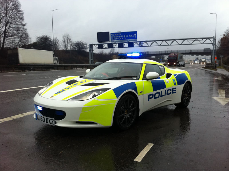 2011 Lotus Evora Police Car