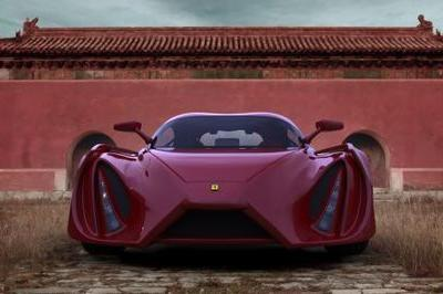 Next-generation Ferrari Enzo design concept