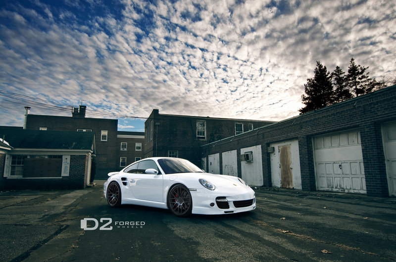2011 Porsche 997 Turbo by D2Forged