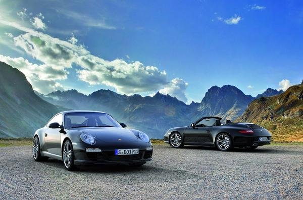 porsche carrera black edition picture