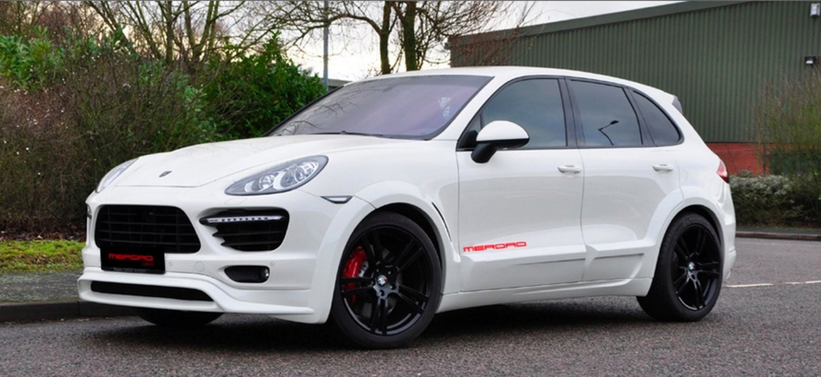 2011 porsche cayenne turbo white by merdad review top speed. Black Bedroom Furniture Sets. Home Design Ideas