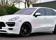 Porsche Cayenne Turbo White by Merdad