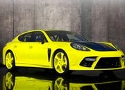 Porsche Panamera Bright Yellow Edition by Mansory