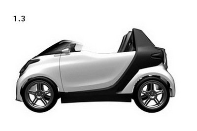 SMART files patent on new Roadster Concept design