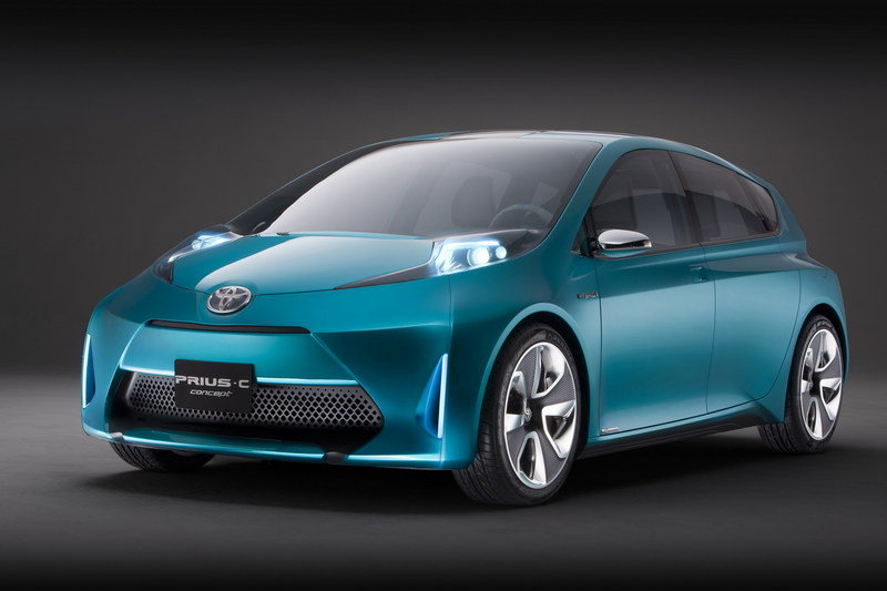 2011 Toyota Prius c Concept High Resolution Exterior - image 388725