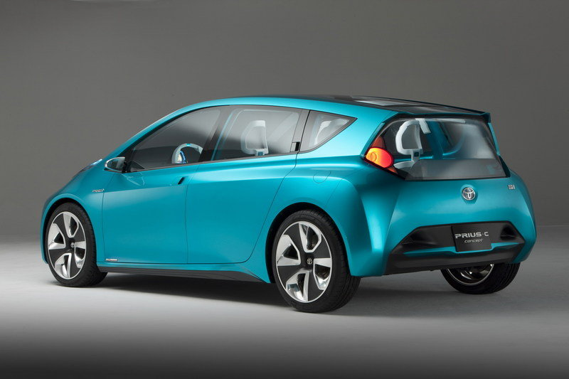 2011 Toyota Prius c Concept High Resolution Exterior - image 388731