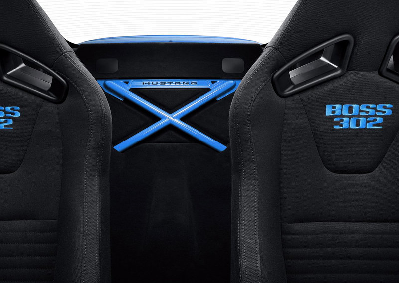 2012 Grabber Blue Boss 302 Laguna Seca High Resolution Interior - image 388355