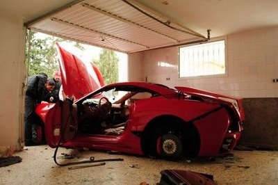 Video: Ferrari's aren't safe in Tunisia