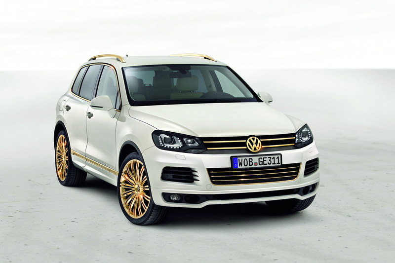 2011 Volkswagen Touareg Gold Edition Study