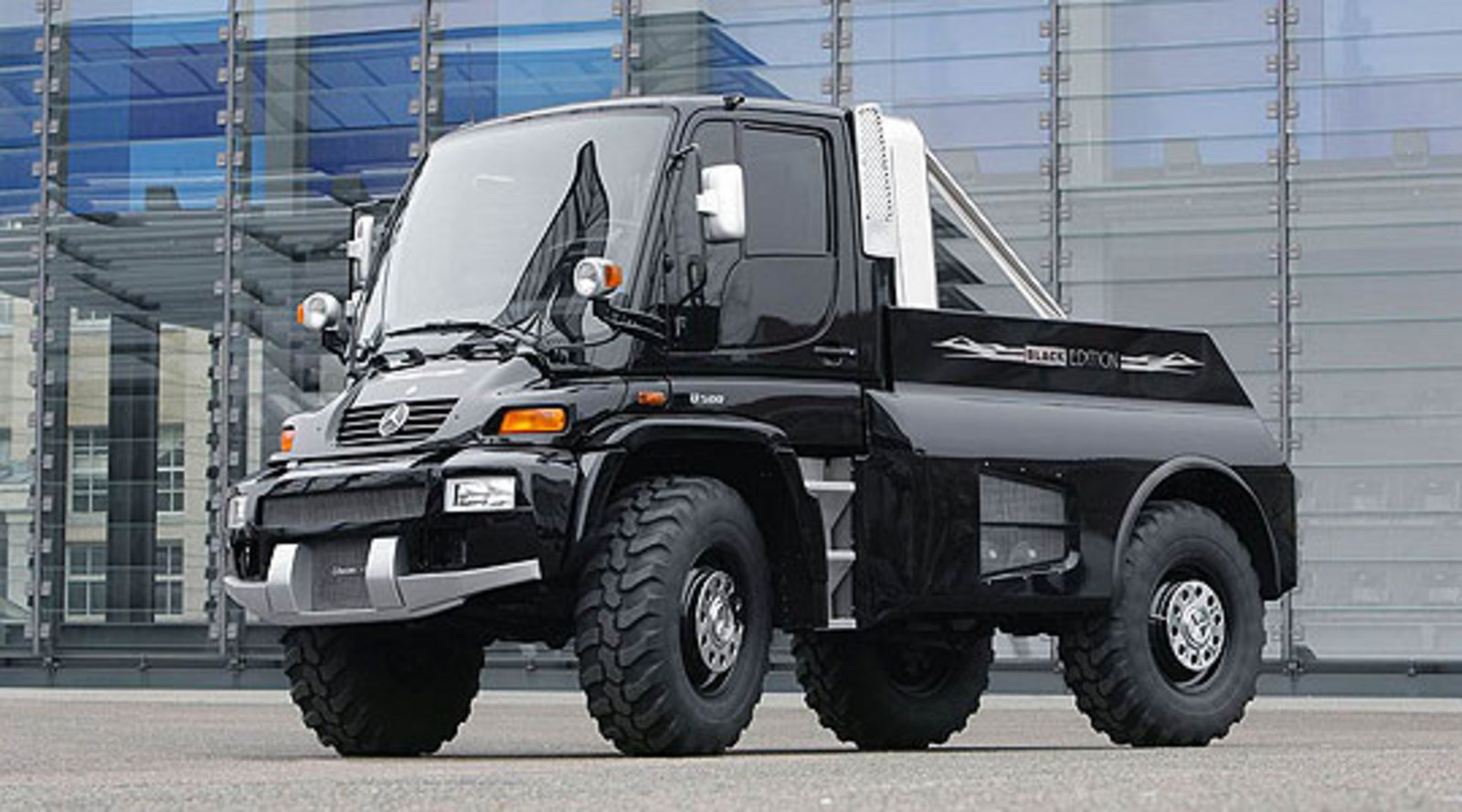 2008 Mercedes Unimog By Brabus Review Top Speed